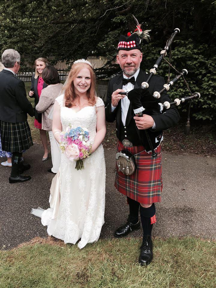 wedding bagpipes