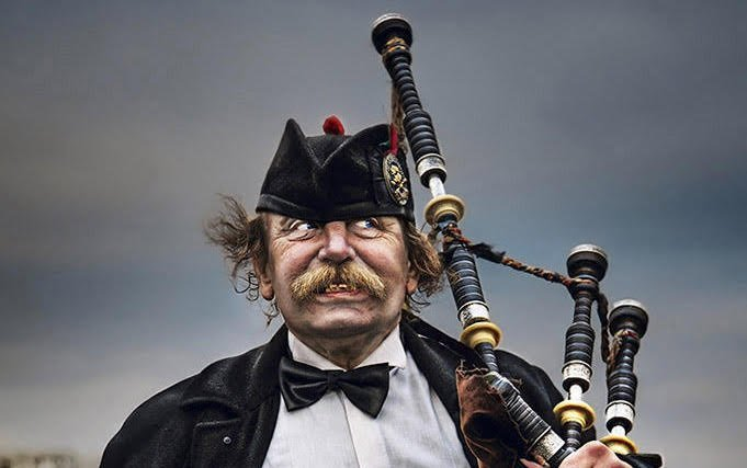 scottish piper for funeral
