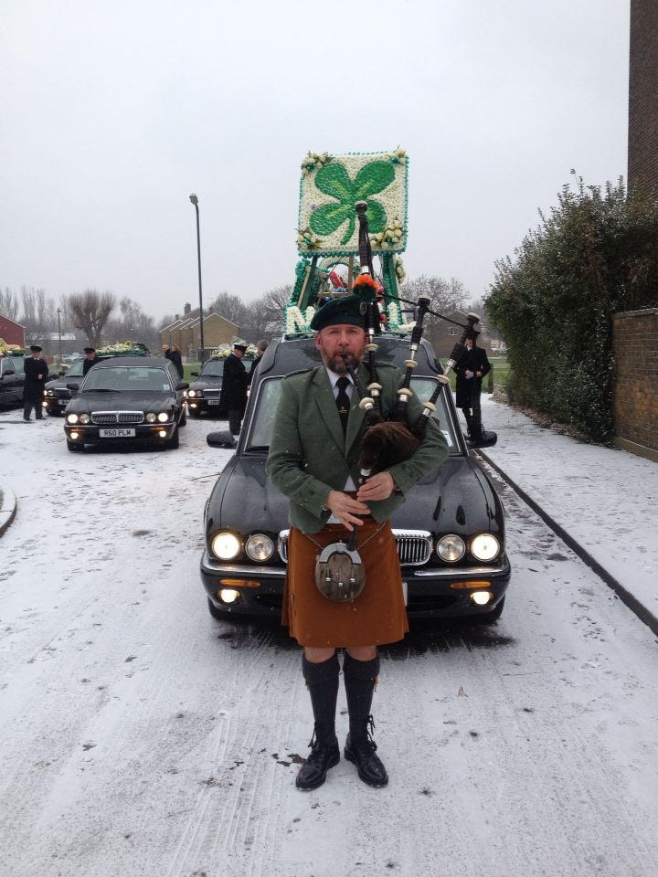 bagpipers for funeral