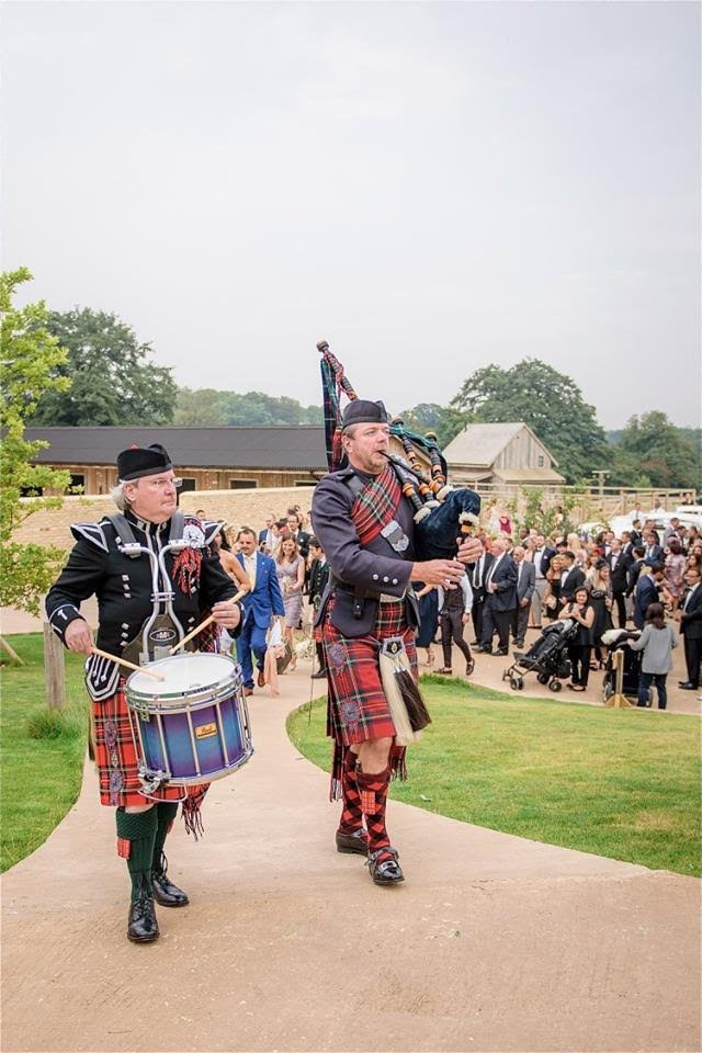 bagpipe players funeral