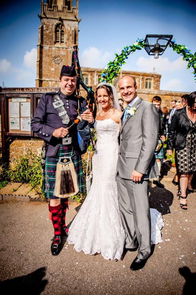 bagpipers for wedding