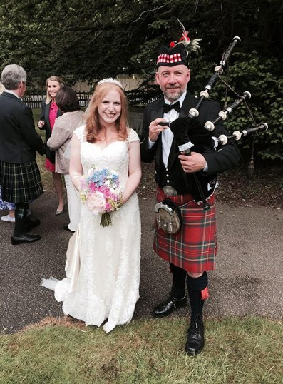 bagpipers for weddings
