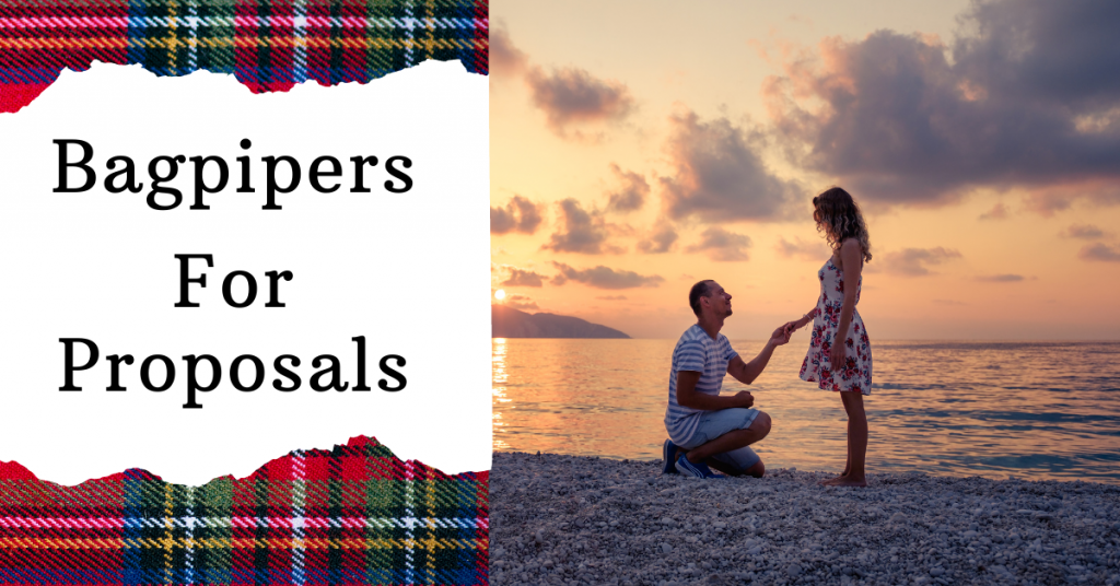 bag pipers for wedding proposals